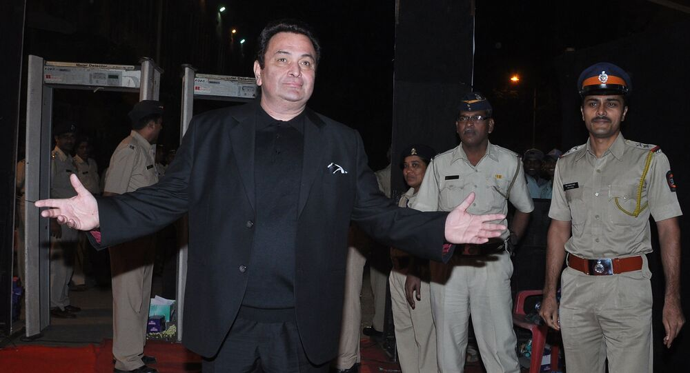 Indian Bollywood actor Rishi Kapoor (File)