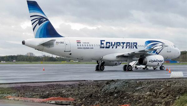Egyptair, SU-GBZ, Airbus A320-232 - Sputnik International