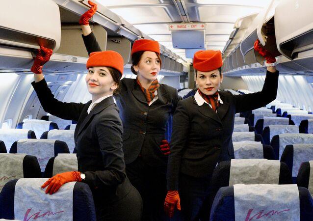 Heavenly Beauty: Stylish Attires of Flight Attendants Worldwide