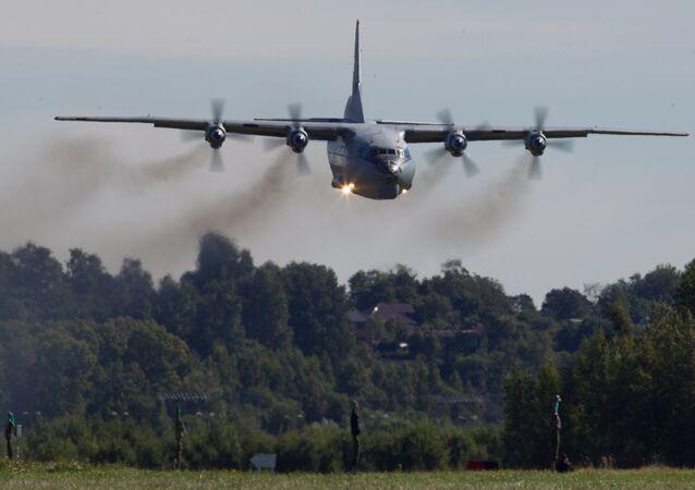 Antonov-12 aircraft