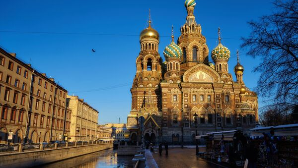 Church of the Savior on Spilled Blood in St. Petersburg named one of the world's most beautiful churches - Sputnik International