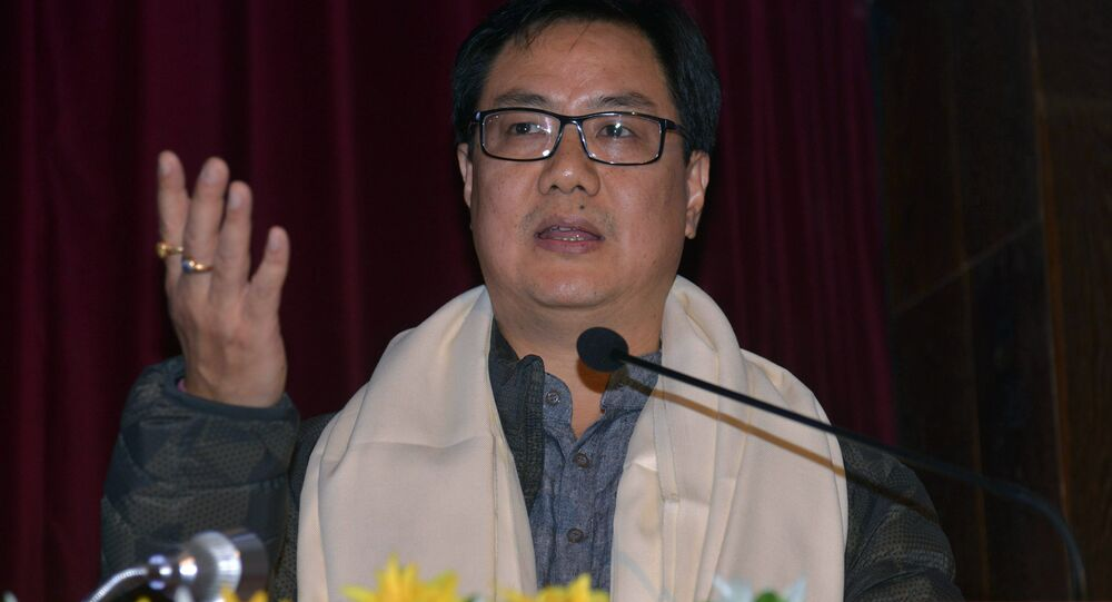 Indian Union Minister of State for Home Affairs Kiren Rijiju (File)