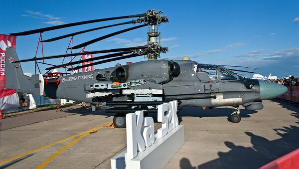 Ka-52K helicopter - Sputnik International