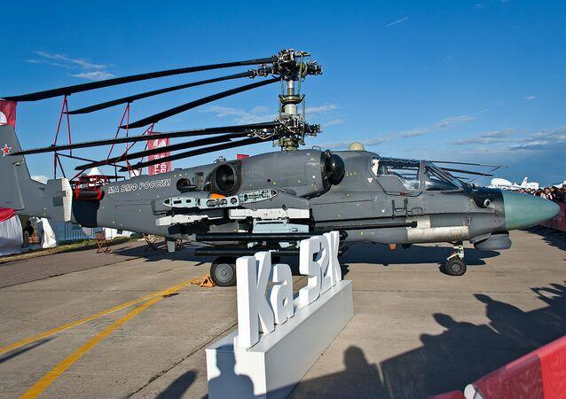 Ka-52K helicopter