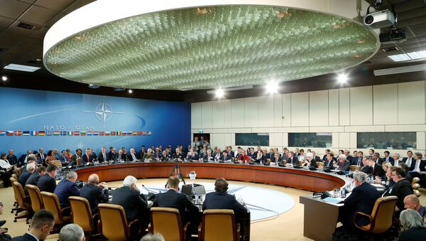 NATO foreign ministers attend a meeting at the Alliance headquarters in Brussels, Belgium May 19, 2016. - Sputnik International
