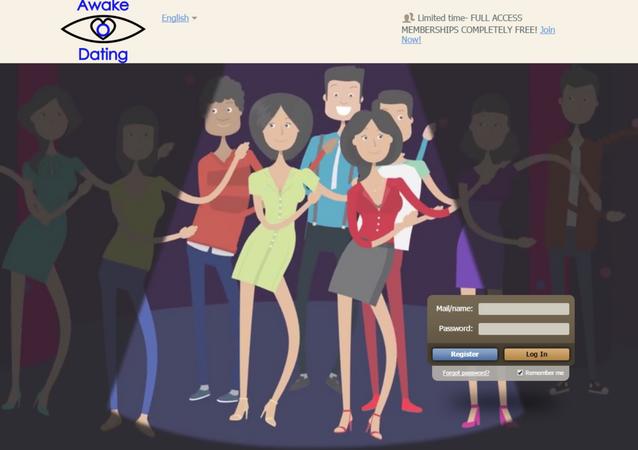 AwakeDating.com Homepage