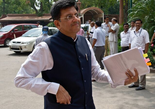 Indian Power and Coal Minister Piyush Goyal