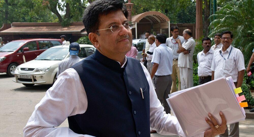 Indian Power and Coal Minister Piyush Goyal