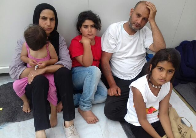 On 17th May, 28 Syrian & Palestinian refugees (adults) went on hunger strike in Chios, Greece. They demand asylum information and interviews for their applications.