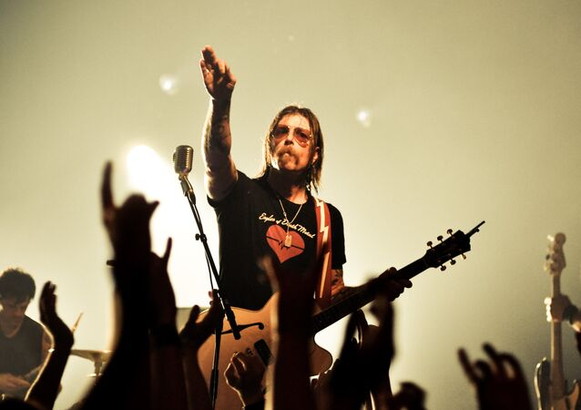 Eagles of Death Metal singer Jesse Hughes