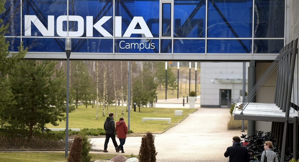 Nokia headquarters is seen in Espoo, Finland, 6 April 2016.