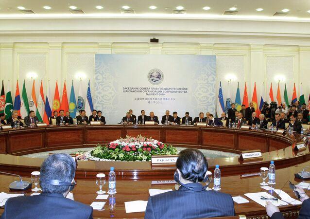 Shanghai Cooperation Organization (SCO) Summit in Tashkent (file)