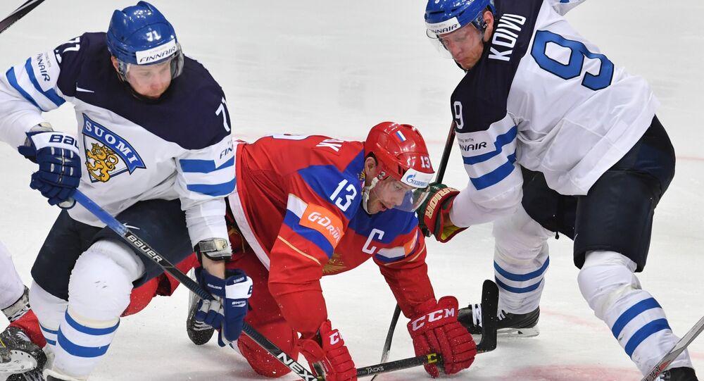 2016 IIHF World Ice Hockey Championship. Finland vs. Russia