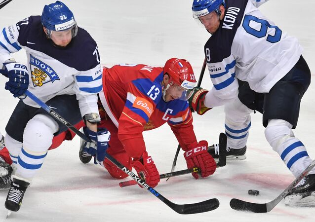 2016 IIHF World Ice Hockey Championship. Finland vs. Russia