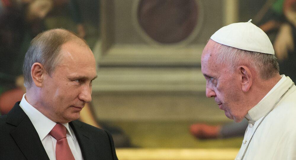 Russian President Vladimir Putin visits Italy