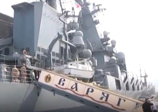 Russia's Pacific Fleet Celebrates Its Anniversary