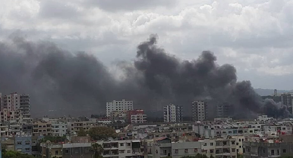 Three Explosions Hit Near Bus Station in Syria's Latakia, Victims Reported