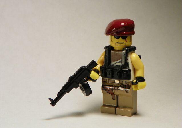 Lego Militia Man