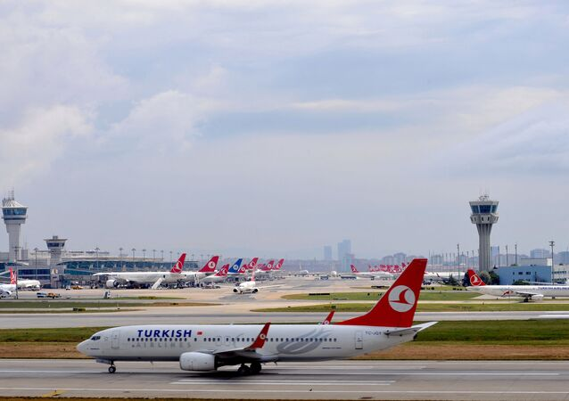 Turkish Airlines plane at the Ataturk Airport. (File)