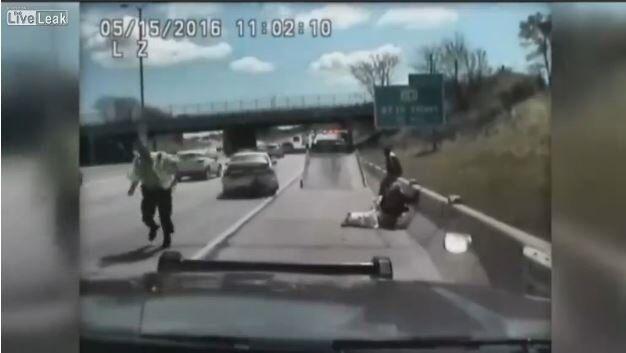 Dashcam Shows Woman Nearly Run Over Two Sheriff's Deputies