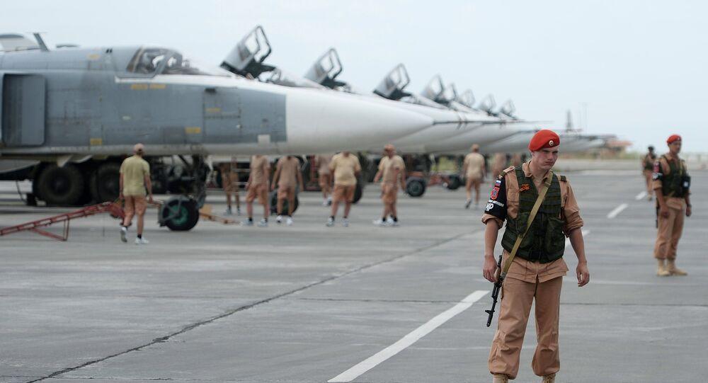 Khmeimim Air Base in Syria
