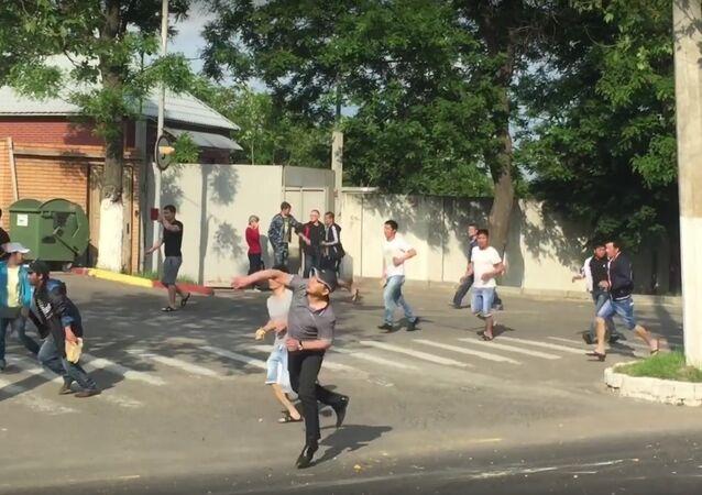 Raid on the Vietnamese quarter in Odessa 23.05.16