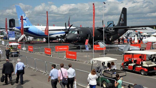 International Farnborough Airshow 2014. File photo - Sputnik International