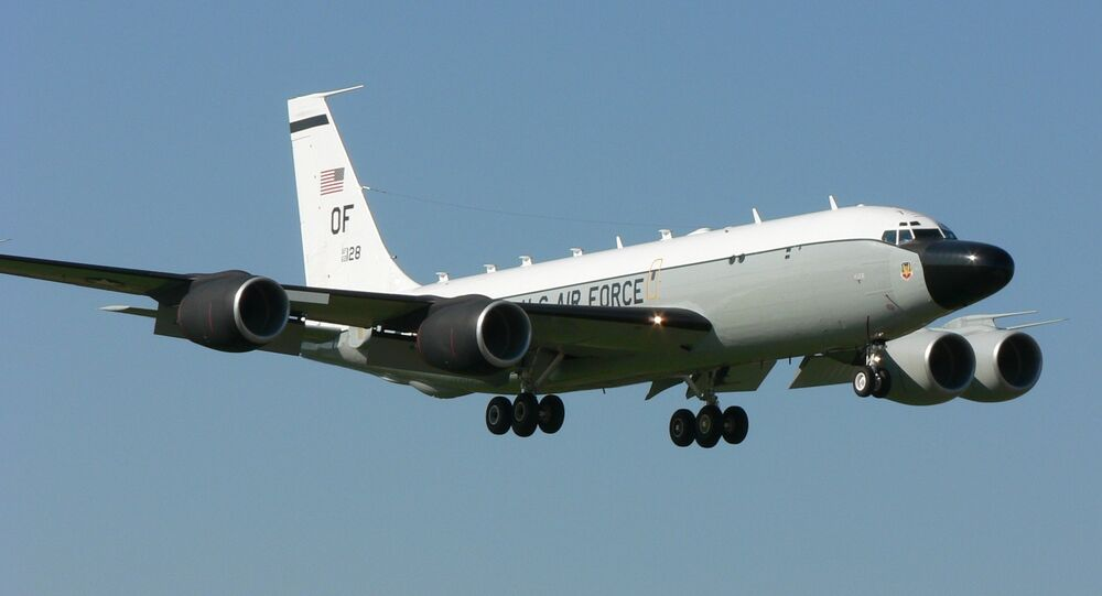 US RC-135 Surveillance Aircraft