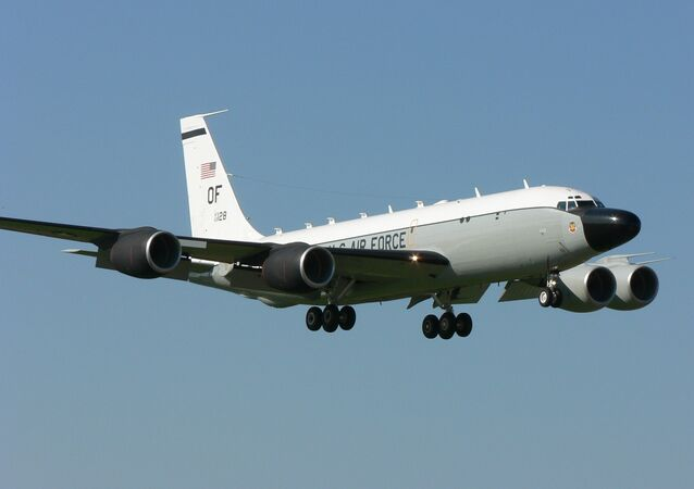 US RC-135 Surveillance Aircraft