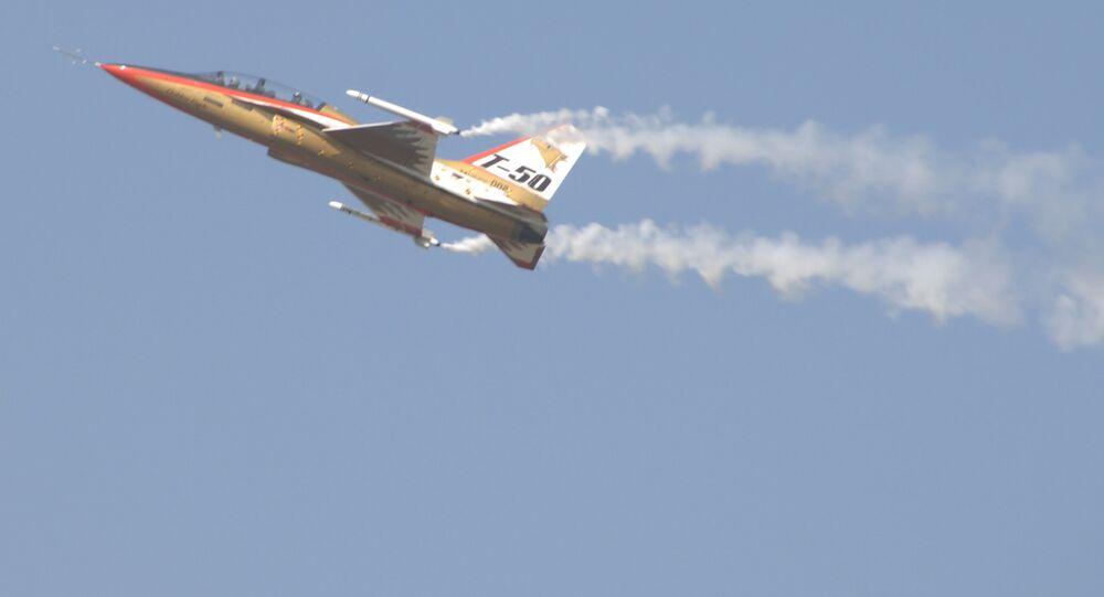South Korean T-50 Fighter Jet