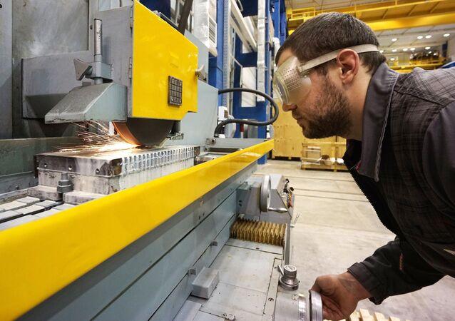 A machine-tool plant in the Rostov Region