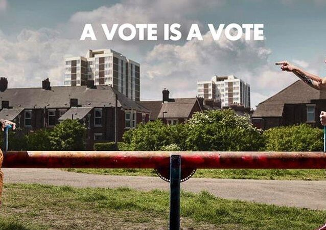 A poster released Thursday (26 May) by 'Operation Black Vote' (OBV)