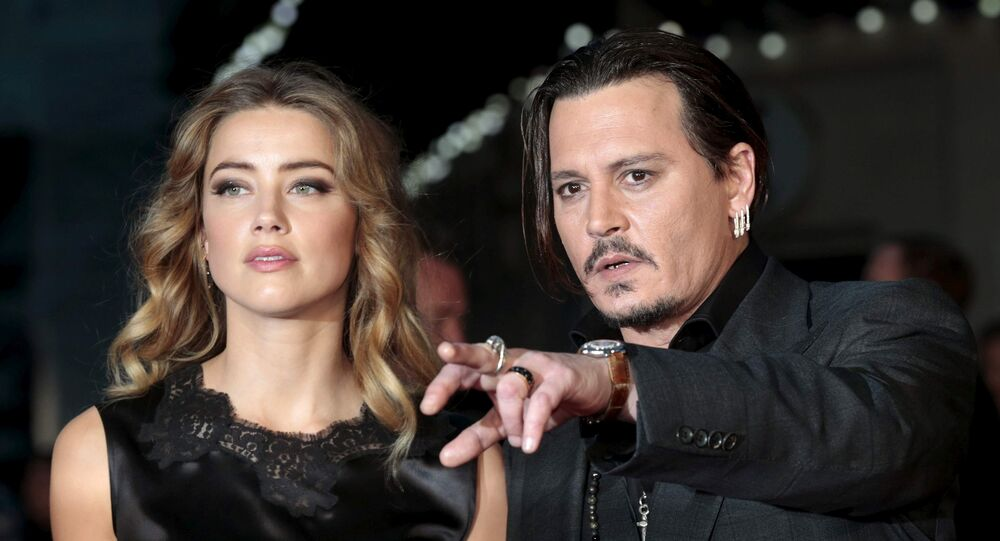 Amber Heard Filed For Divorce Three Days After Johnny Depp's Mom Died