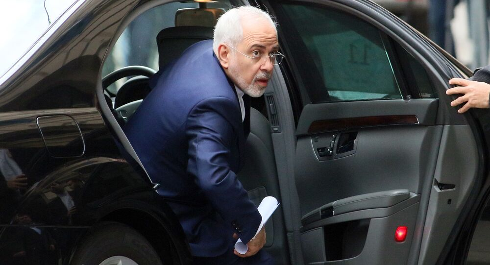 Iranian Foreign Minister Mohammad Javad Zarif.