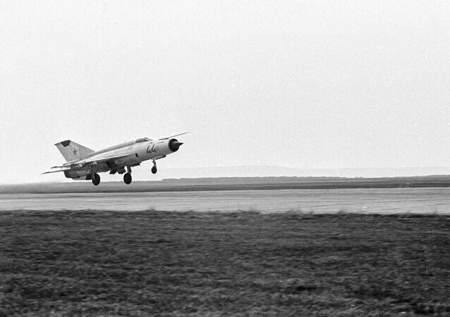 MiG-21 jet fighter. (File)