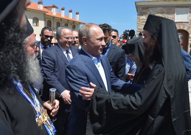 President Vladimir Putin's visit to Greece. Day Two