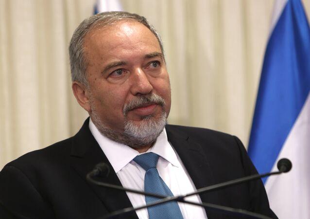 Former Israeli Defense Minister Avigdor Lieberman