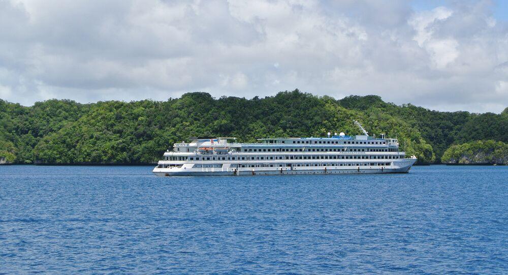 Chinese cruise ship Xian Ni