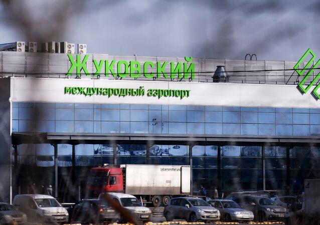 The building of the Ramenskoye international airport in Zhukovsky