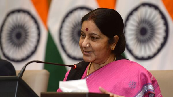 Indian Foreign Minister Sushma Swaraj - Sputnik International