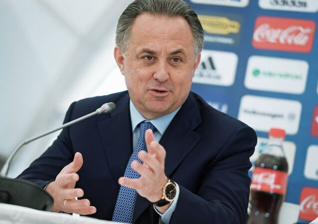 Football. News conference with Russian national team