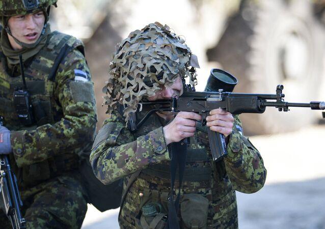 Estonian army exercises. (File)