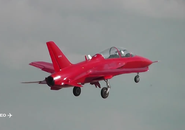 SR-10 a new training aircraft for the air force (Conveyors) Kubinka
