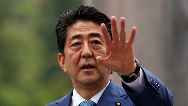 Japan's Prime Minister Shinzo Abe - Sputnik International