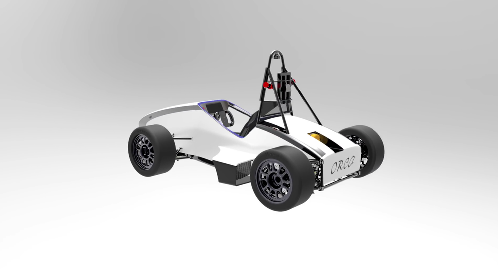 Presenting the design of Orca | 5th Electric Racecar by IIT Bombay Racing