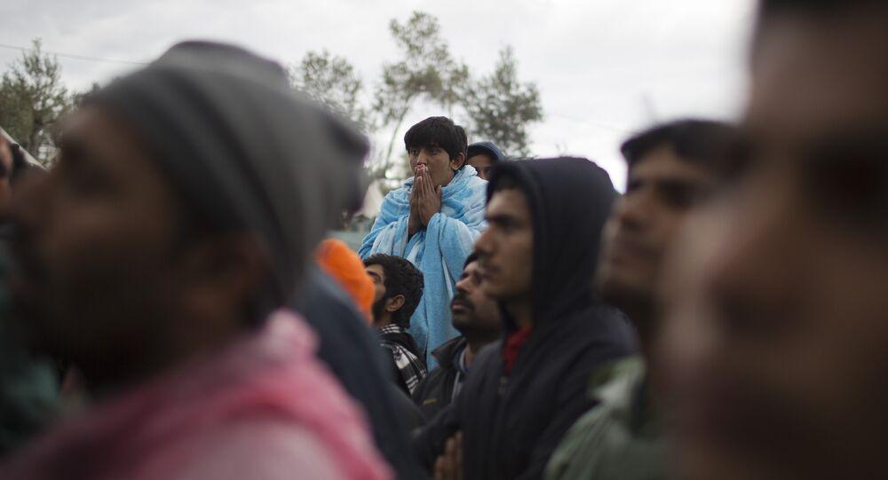 Pakistani migrants. (File)