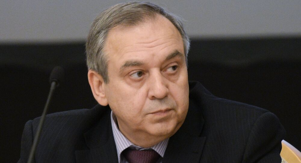 Crimea's Permanent Representative to the Russian President Georgy Muradov.