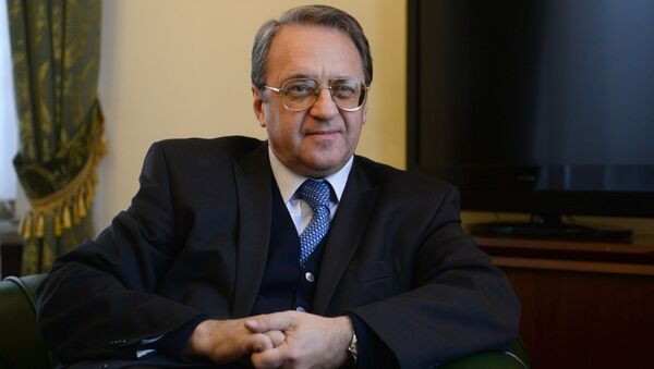 Russian Deputy Foreign Minister Mikhail Bogdanov - Sputnik International