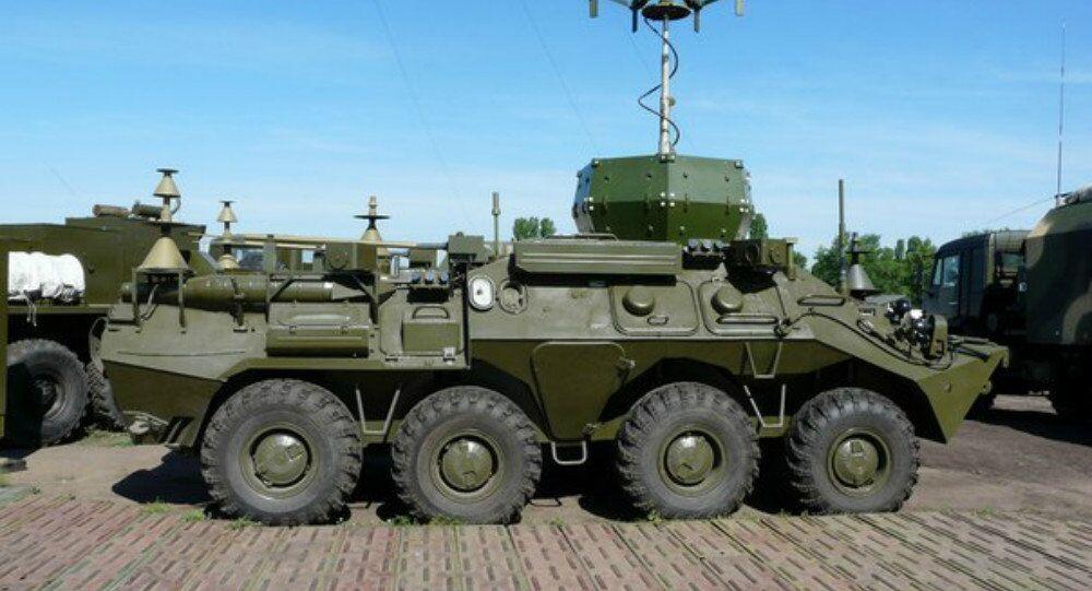 Multirole electronic warfare vehicle Infauna