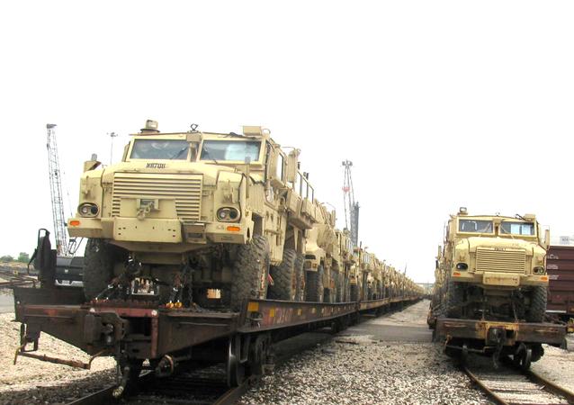 MRAP (Mine Resistant Ambush Protected) vehicles